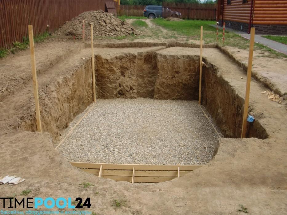 Строительство бассейнов под