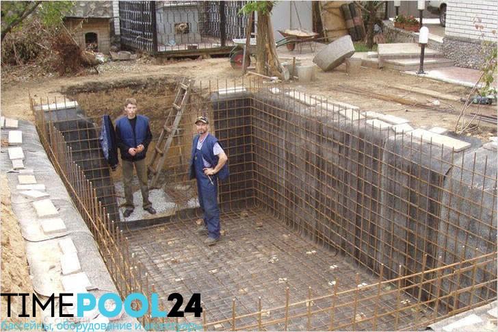 Строительство бассейна под ключ в москве