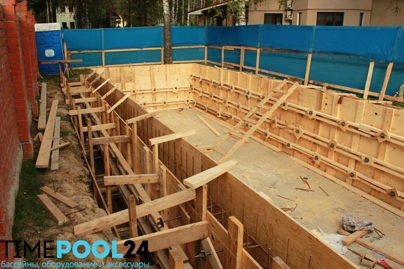 Строительство бассейнов в москве под ключ