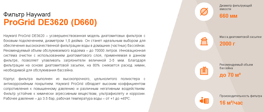 хар-ки DE3620 D660
